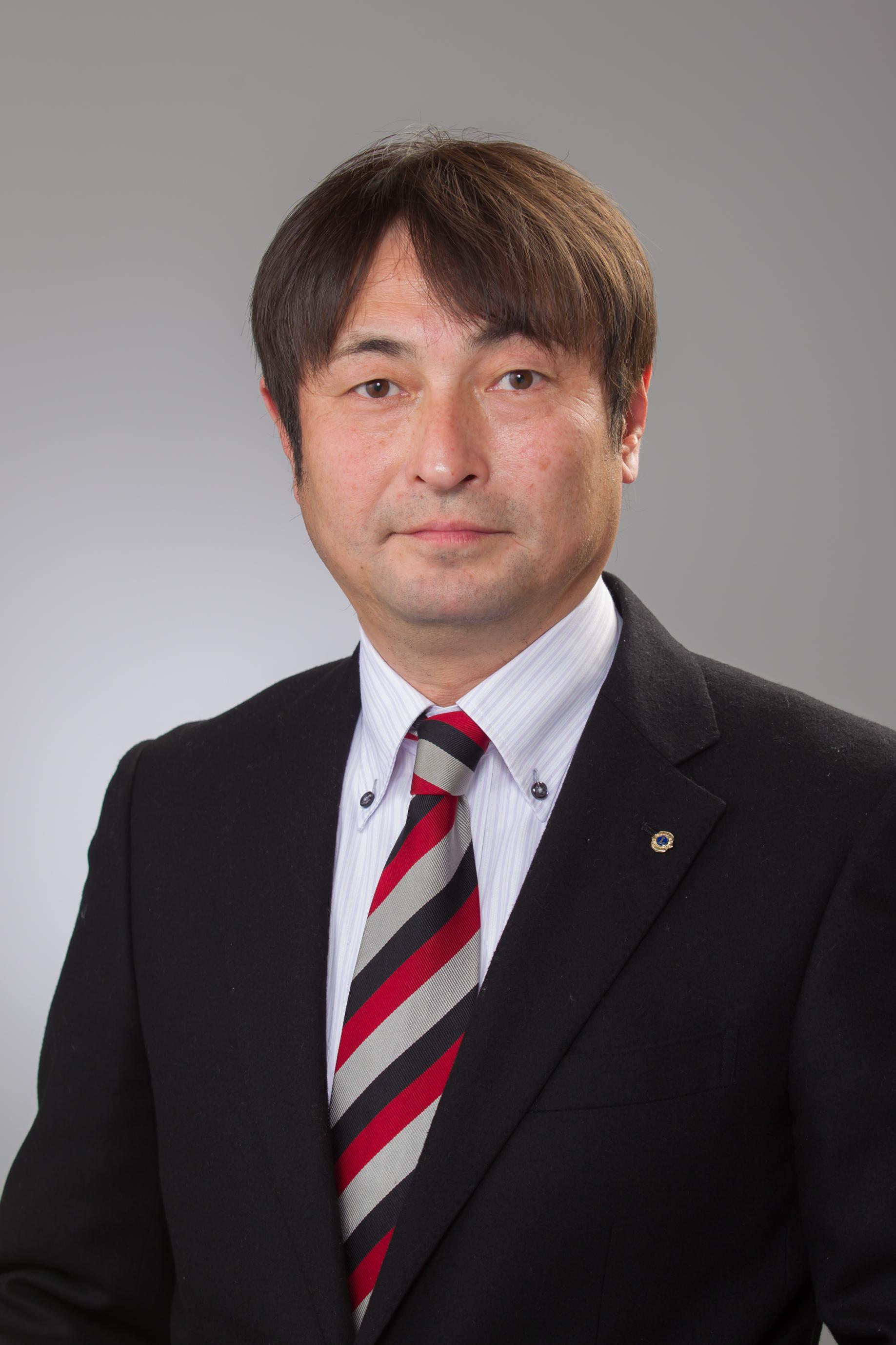 香芝ライオンズクラブ 25代 会長  山口 貴志